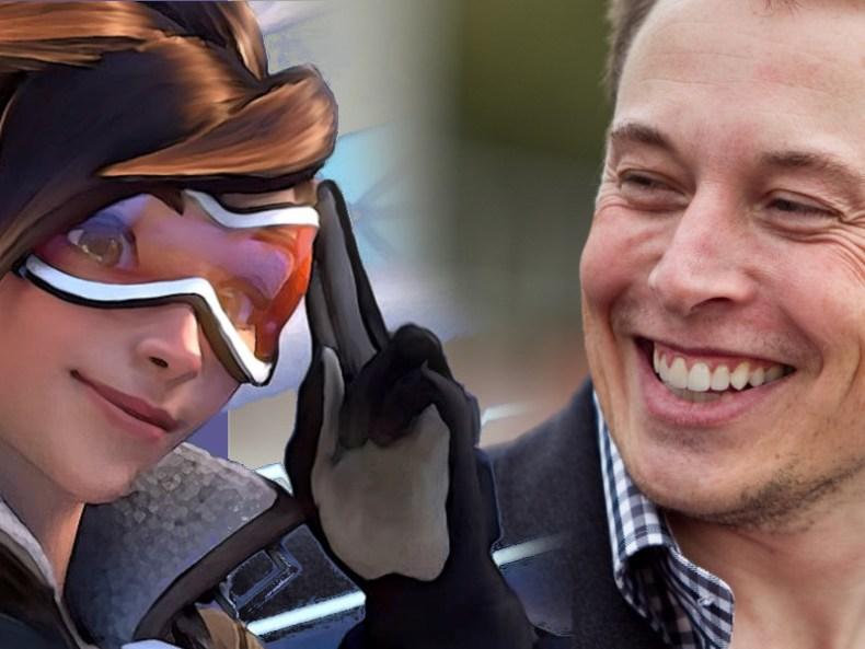 Elon Musk Recommends Overwatch