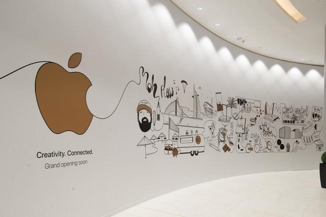 متجر Apple فى دبي مول