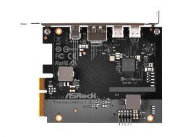 الكشف عن بطاقة التوسعة Thunderbolt 3 AIC من ASRock