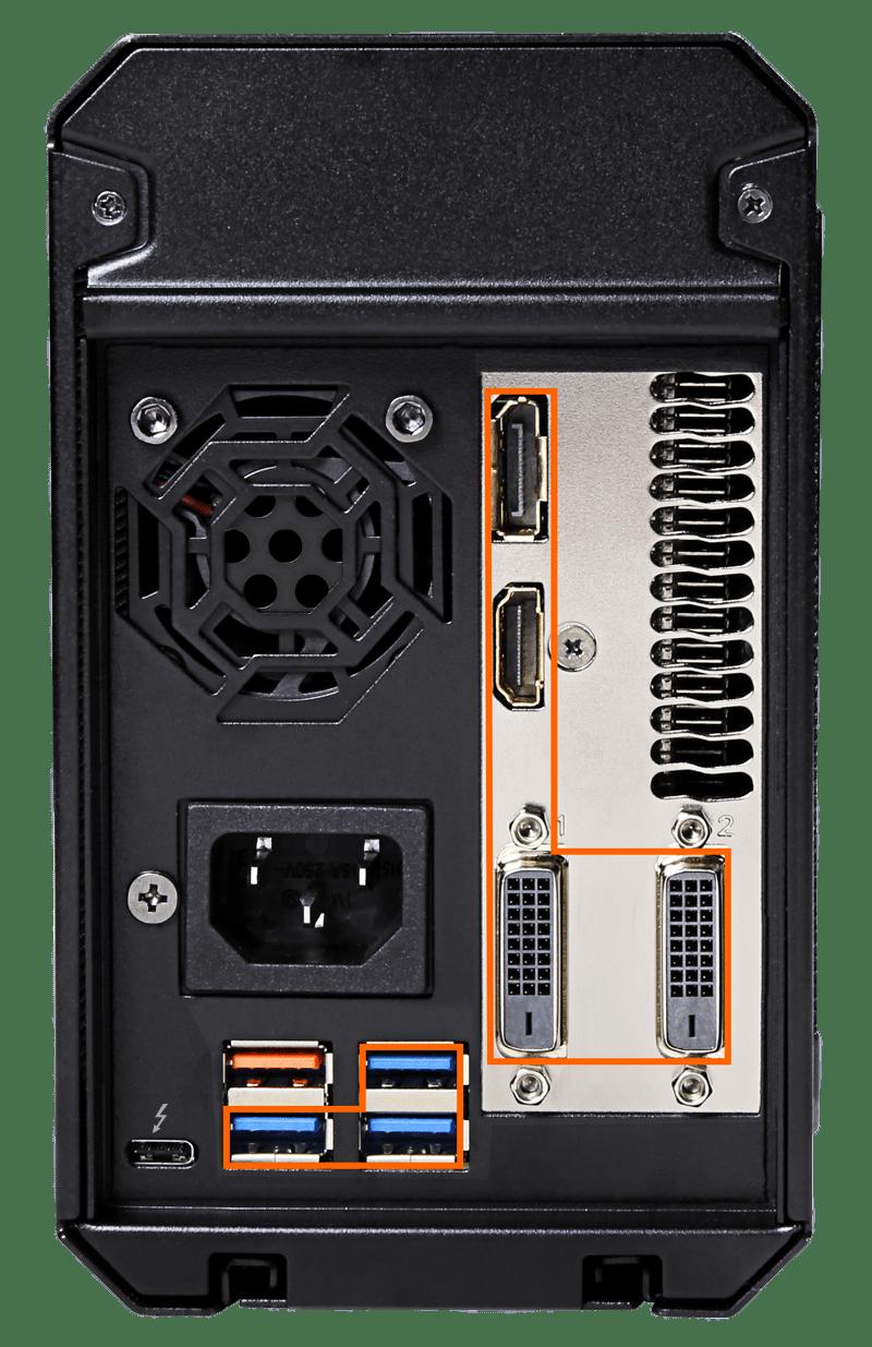 صندوق الألعاب AORUS GTX 1070 Gaming Box