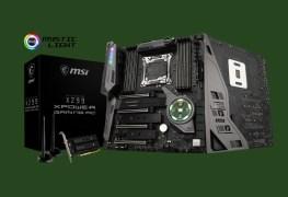 لعشاق الأداء القوي تعرف على لوحة MSI X299 XPOWER Gaming AC المثيرة