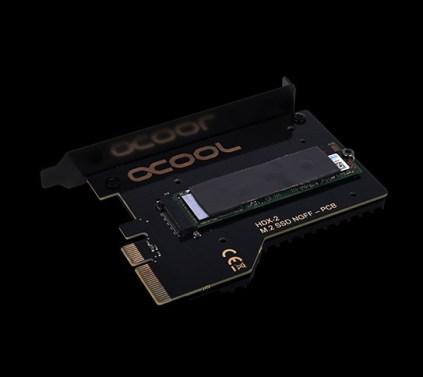رحب بأول بلوك مائي Eisblock HDX 2 من Alphacool لتبريد قرص M.2 SSD!