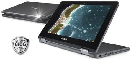 الجهاز المحمول ASUS Chromebook Flip C213 قد يثير إعجاب الطلاب