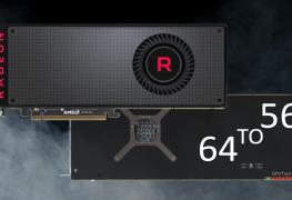 تحويل بطاقة RX Vega 56 إلى RX Vega 64..يبدو ممكناً عن طريق البيوس!
