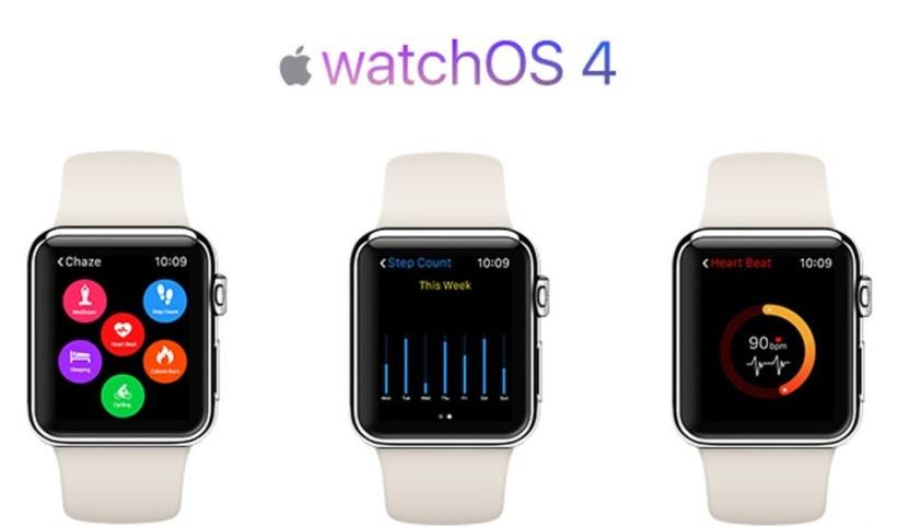 نظام تشغيل watchOS 4