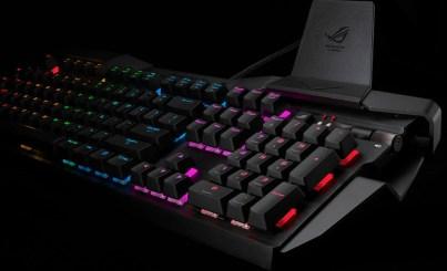 نسخة جديدة من كيبورد ASUS Horus GK2000 بإضاءة RGB