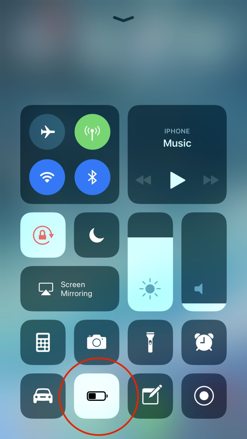 iOS-11-Low-Power-Mode