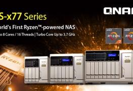 لأول مرة بالعالم QNAP تستعرض أول وحدة تخزين شبكي بمعالج Ryzen!