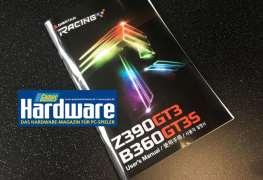 شريحة إنتل Z390 تظهر لاول مرة مع لوحة BIOSTAR Z390 RACING GT3!
