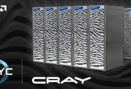 شركة Cray تقرر استخدام معالجات AMD EPYC لخط منتجاتها من الحواسب الخارقة