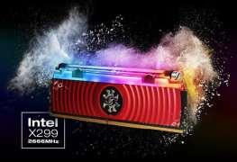 لأول مرة بالعالم ADATA تقدم ذاكرة SPECTRIX D80 DDR4 RGB الهجينة بتبريد مائي