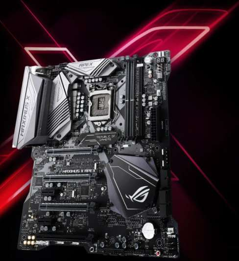 ASUS ROG OVERCLOCKING MOTHERBOAED