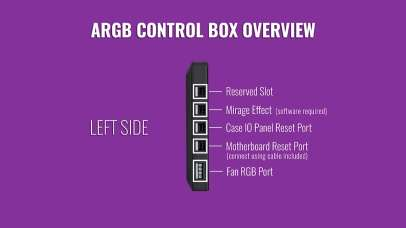 Cooler Master Wired ARGB Contoller 2