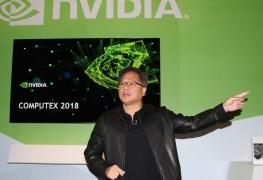 معرض Computex18: مدير انفيديا يؤكد الجيل التالي لبطاقات GeForce سيطلق بعد وقت طويل من الان!