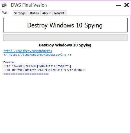 disable win 10 spying and updates