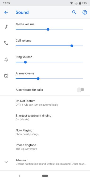 Android P Beta 3 ، أندرويد P بيتا 3