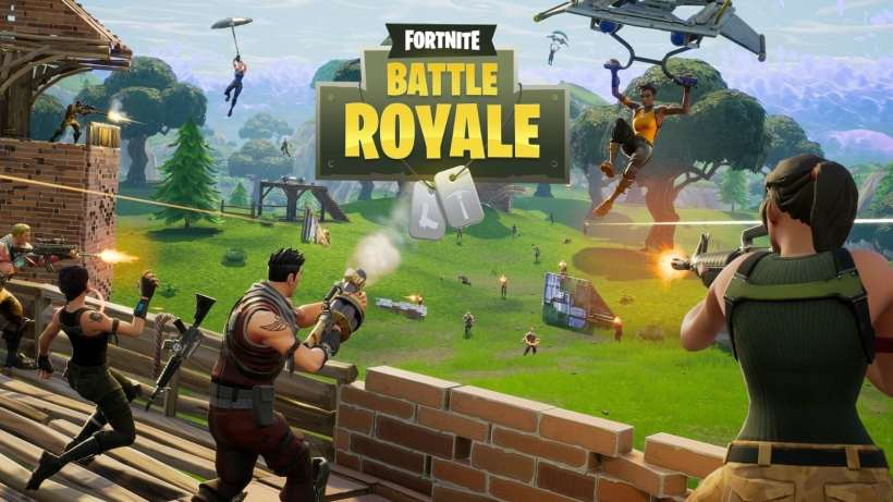 Battle Royale Fortnite