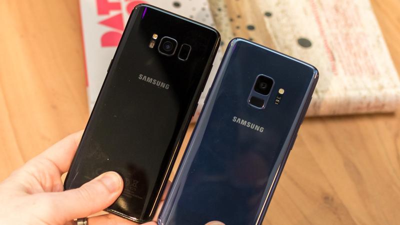 Samsung Galaxy S9 vs S8