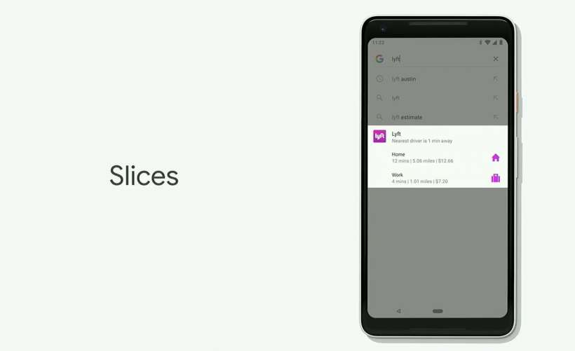 Android P Slices