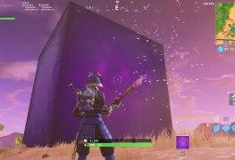 Fortnite Purple cube season 6