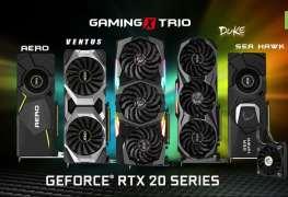 msi RTX 20 series