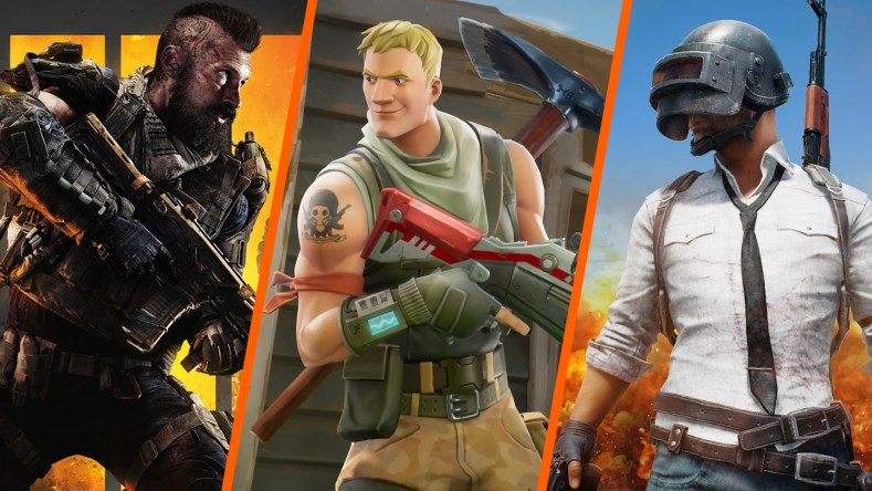 Call of Duty Black Ops 4 Blackout Fortnite PUBG