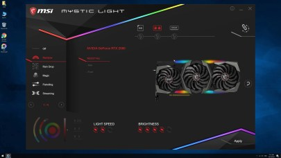 Mystic Light MSI MEG Z390 ACE (2)
