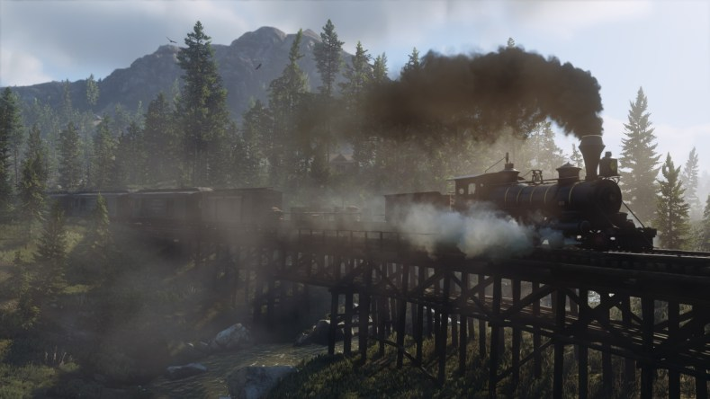 Red Dead Redemption 2 train