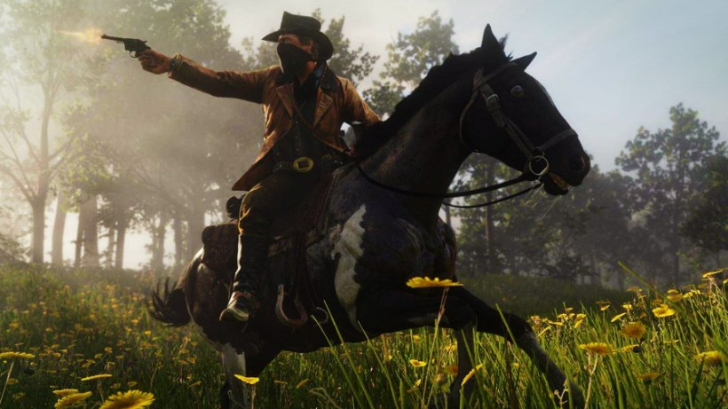 Red Dead Redemption 2 Horse Twitch