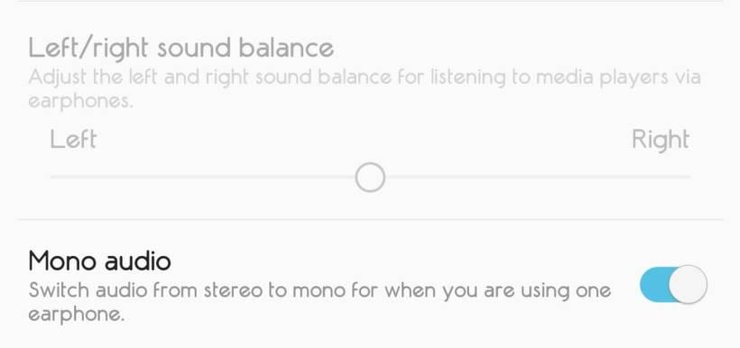 تحويل الصوت من نمط Stereo إلى Mono – هواتف Android