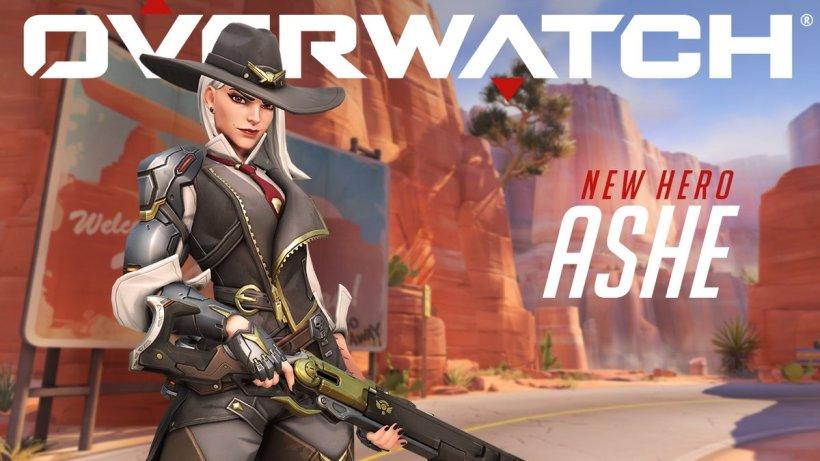 Blizzard Overwatch new Hero Ashe