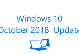 تحديث Windows 10 October 2018 Update