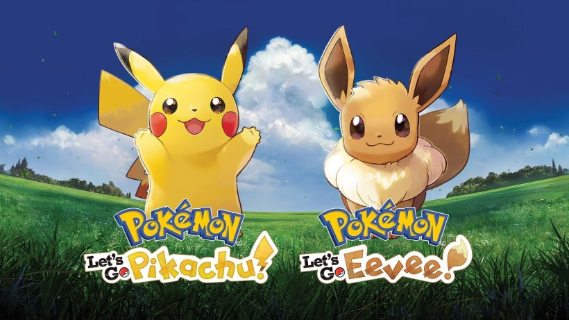 Pokemon Let's Go Pikachu Evee UK Charts