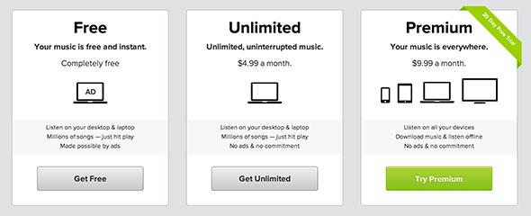 اسعار الاشتراك في Spotify و Apple Music