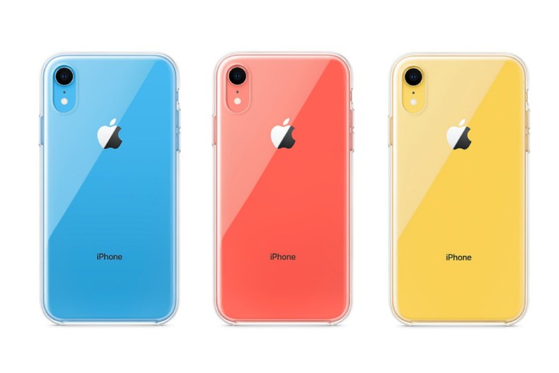 أبل - iPhone XR - غطاء شفاف