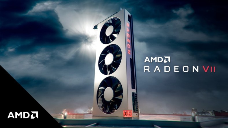 AMD Radeon VII RTX 2080 Nvidia CES 2019