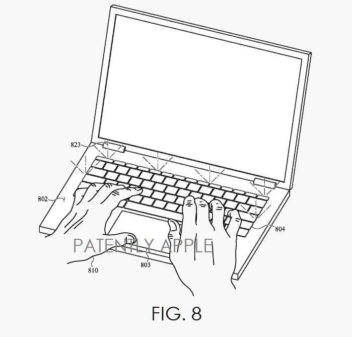 أجهزة MacBook تحصل على مستشعرات لمعدل نبض القلب