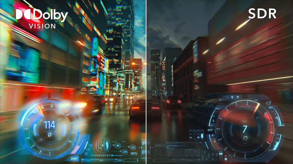 Dolby Vision شاشات التلفاز Xbox Series X PS5