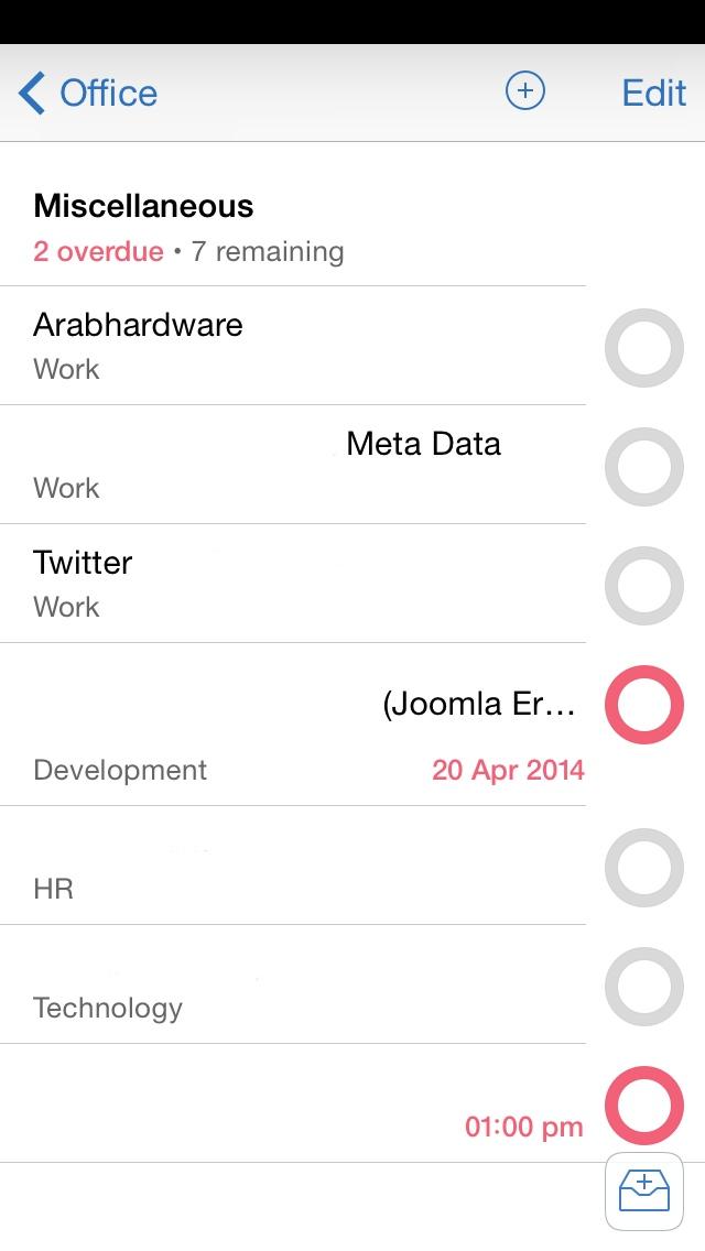 Omnifocus2-iPhoneProjectsScreen