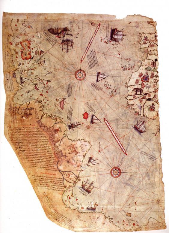 خريطة لمسلم من عهد القسطنطينية تثير حيرة العلماء شاهد