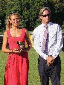 Francesca Aragno and Jeffrey Wintersteen