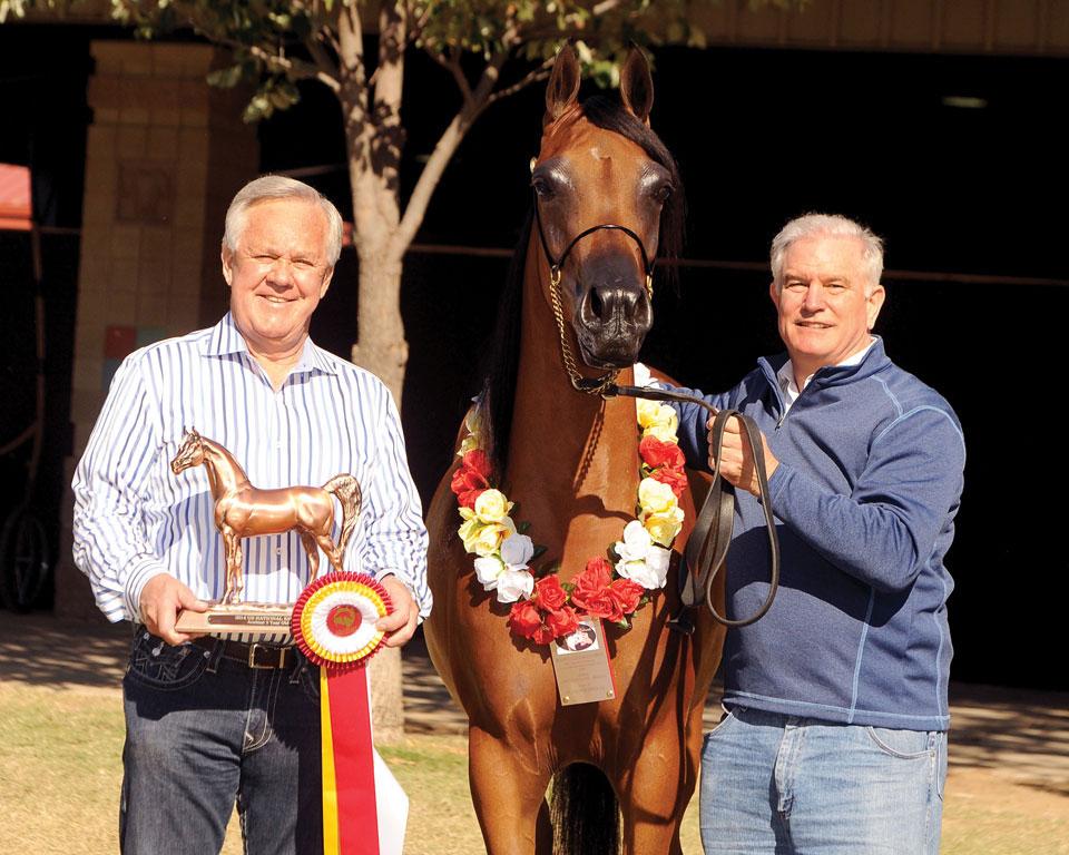 Gary Kehl of GRK Arabians