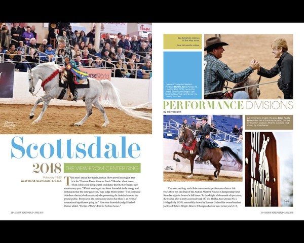 Scottsdale: Performance — A View from Center Ring