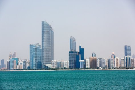 Abu Dhabi Corniche. Image by Patrick Keogh via Flickr
