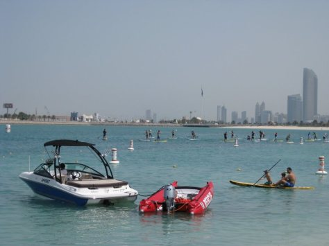 Stand up paddle board races