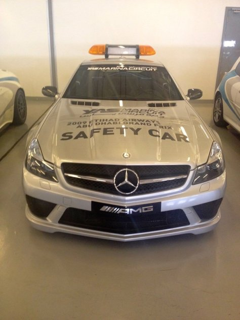 Yas Marina Circuit safety car