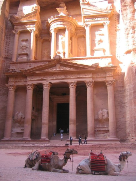 The Treasury at The Rose City of Petra