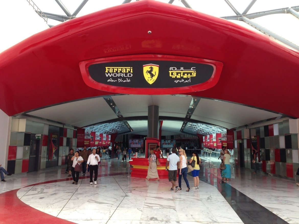 Mamma Rossella And Ferrari World Abu Dhabi Arabian Notes