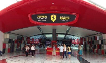Mamma Rossella and Ferrari World Abu Dhabi