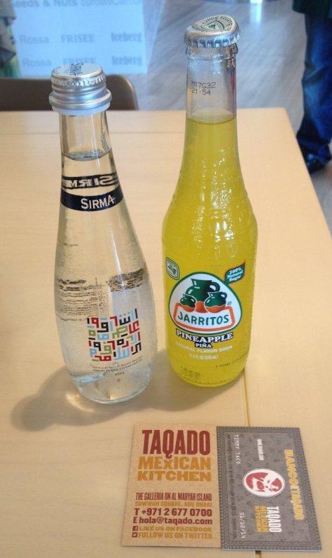 Taqado pineapple soda